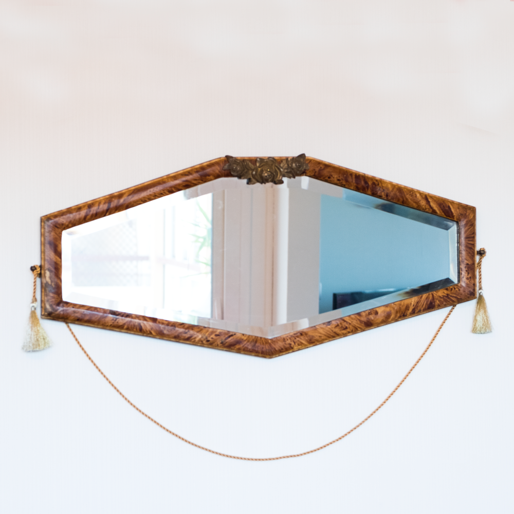 Miroir époque Art Nouveau les Curiosités d'Emilie
