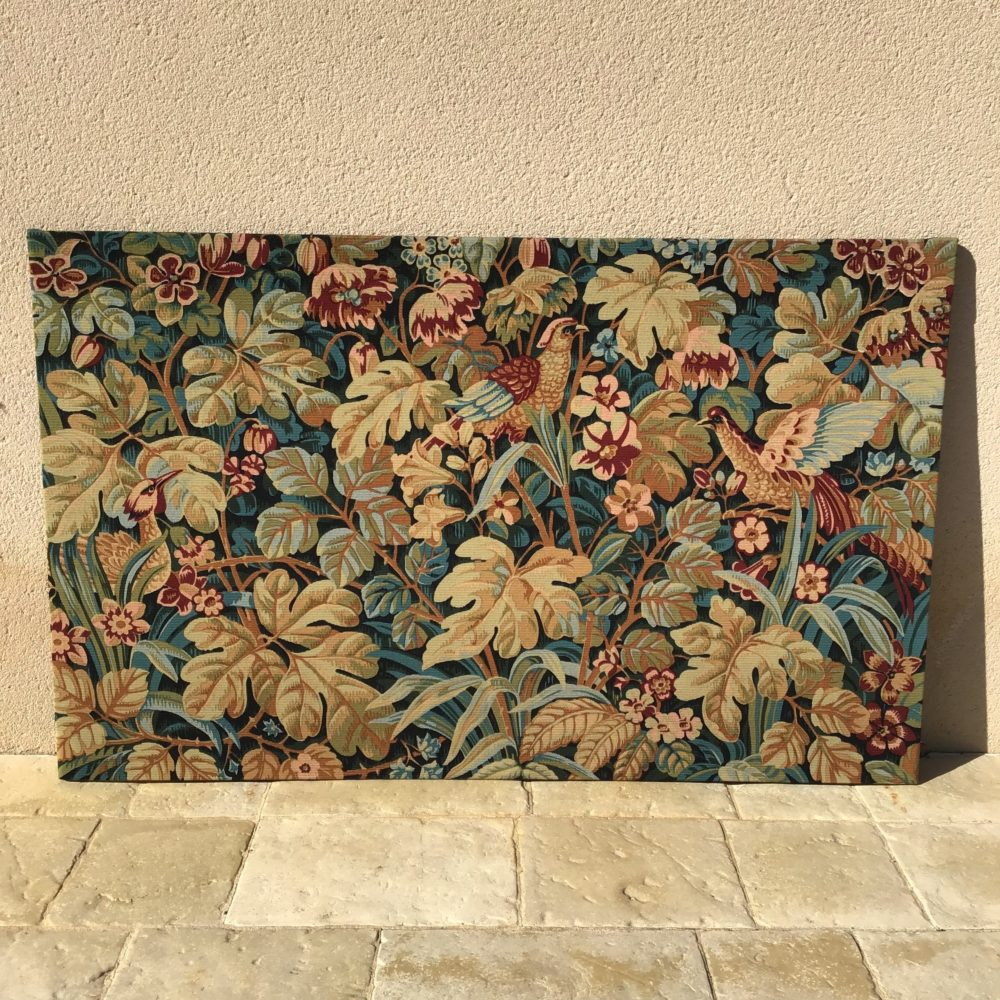 Tapisserie en laine faite main carton de Jean DUPONT réalisée par l'Atelier Robert FOUR manufacture à Aubusson - à retrouver sur le site www.lescuriositesdemilie.fr 9