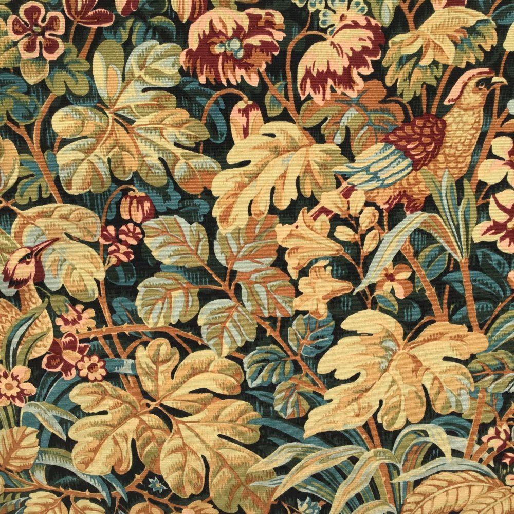 Tapisserie en laine faite main carton de Jean DUPONT réalisée par l'Atelier Robert FOUR manufacture à Aubusson - à retrouver sur le site www.lescuriositesdemilie.fr 6