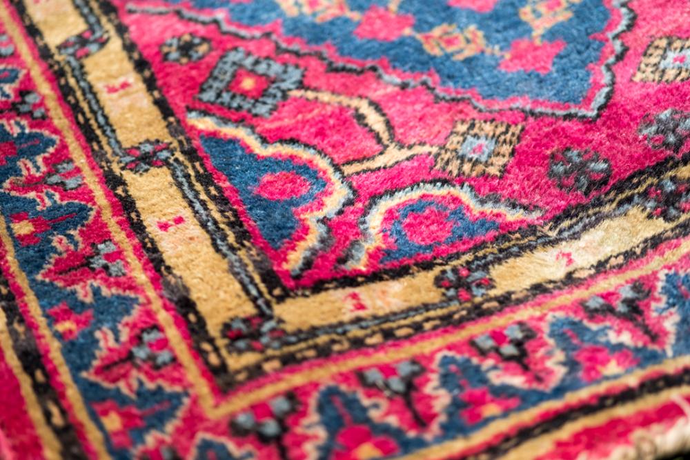 Tapis-galerie-en laine-chine-années-80-les-curiositesdemilie 2