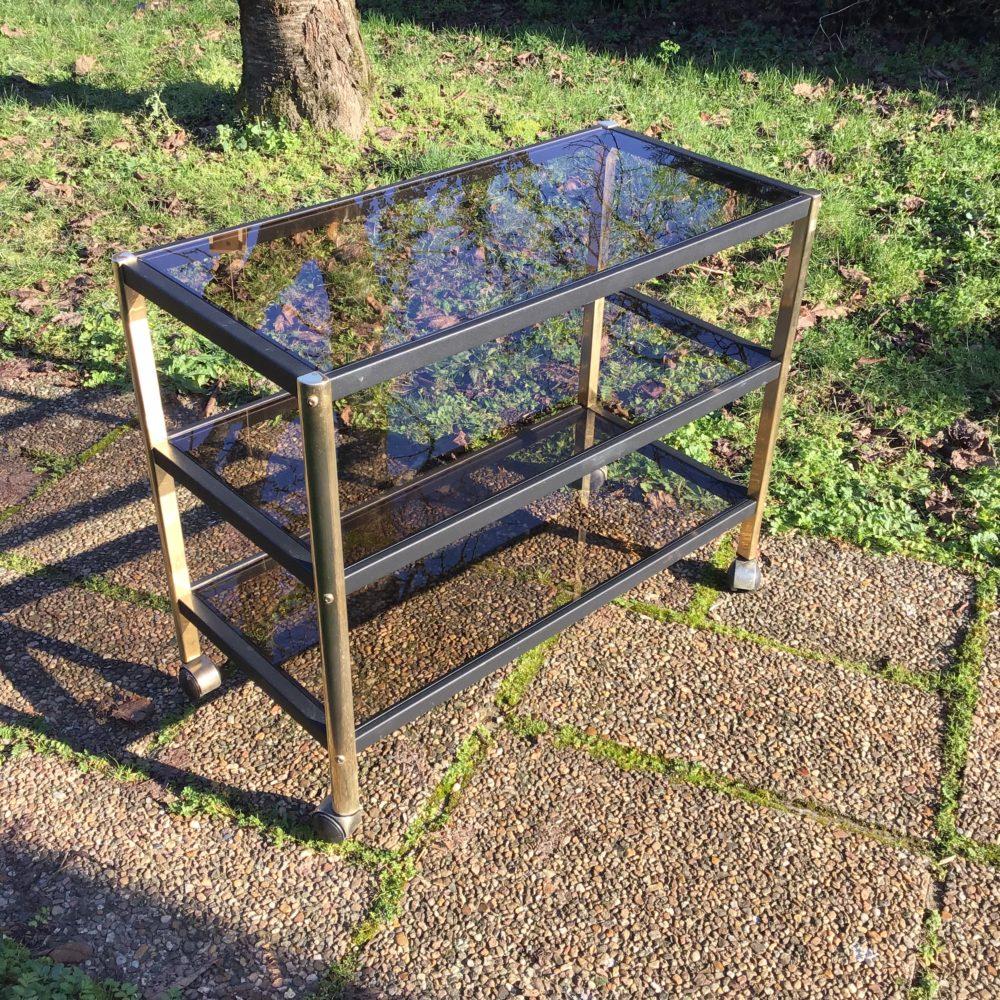 meuble-erard-structure-en-metal-dore-et-noir-verre-trempe-années-80-vintage-etageres-meuble-tv-les-curiosites-d-emilie-1