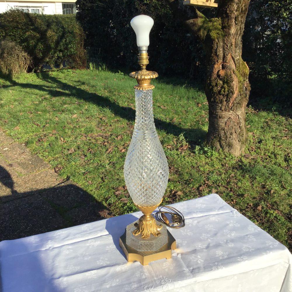 lampe-ancienne-verre-pointe-de-diamant-monture-verre-taillé-années-30-bronze-laiton-les-curiosites-d-emilie-2