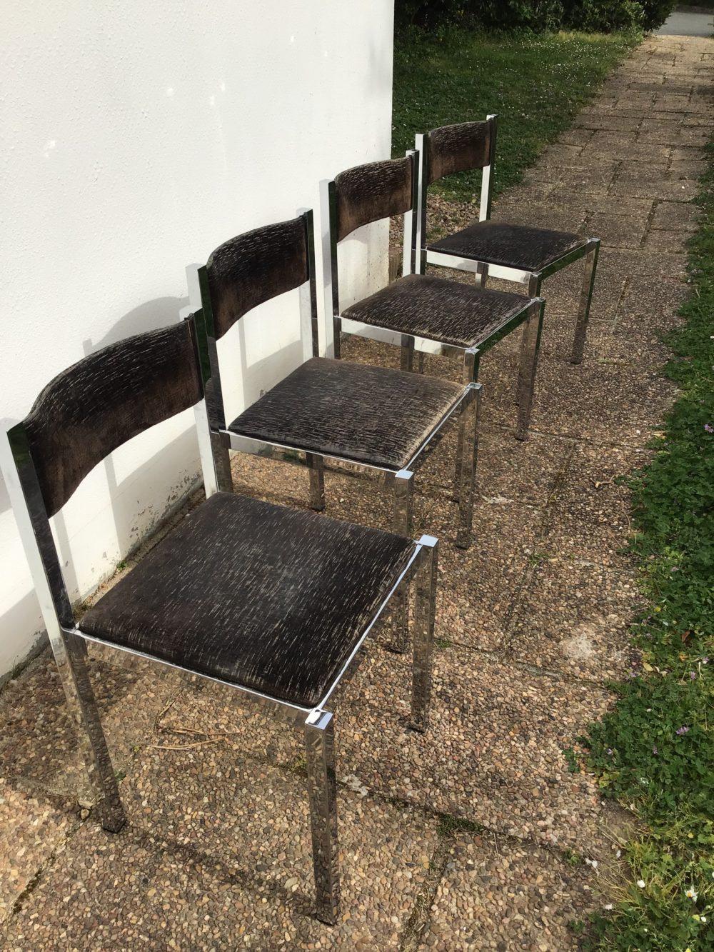 Chaises-italiennes-vintages-annees-70-metal-chrome-les-curiosites-d-emilie